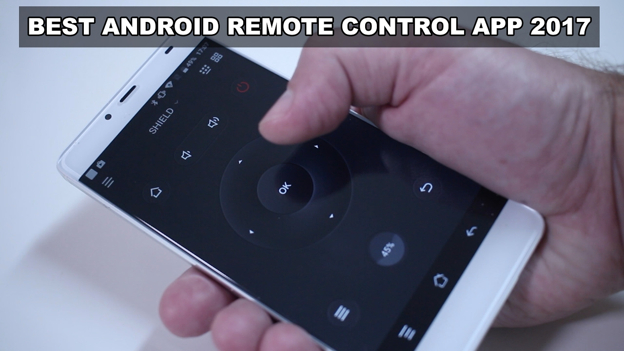 turn mobile phone into tv remote control